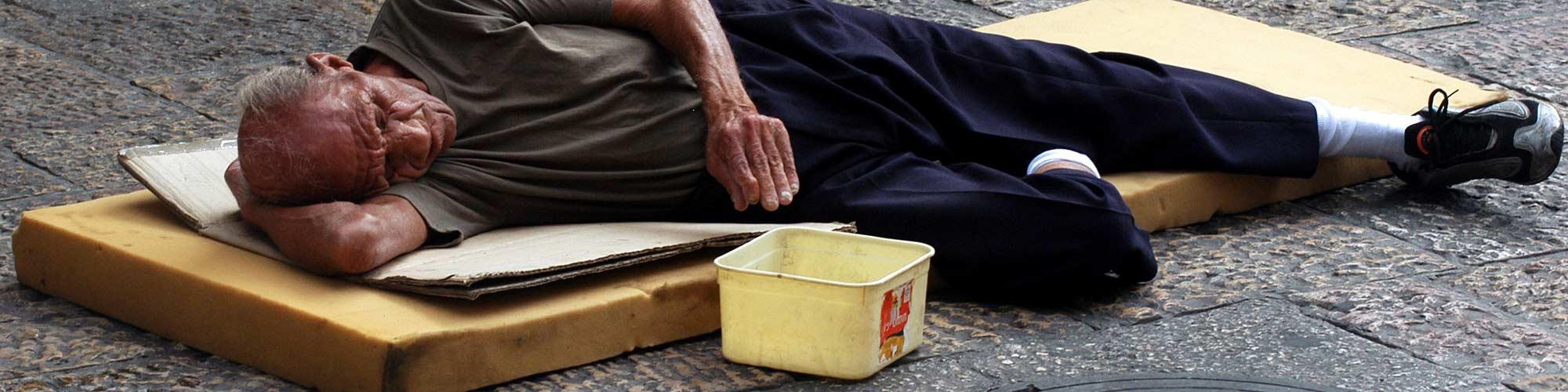 ayuda a personas de la calle
